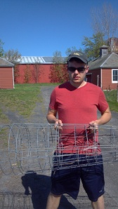 Tomato cages are serious business