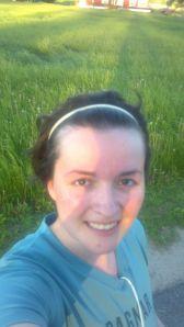 After a really enjoyable run...
