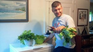 I love a man who gardens...