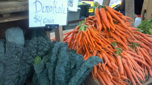 Kale and Carrots...