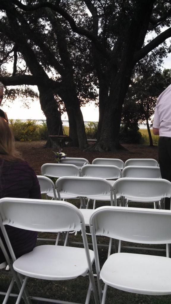 Ceremony site.